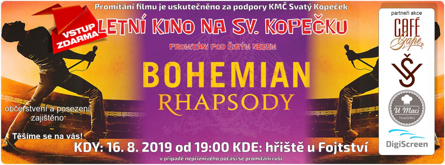 letní kino 2019 Bohemia Rapsory